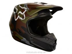 FOX V1 Camo Motocross Helm