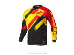 Kenny Racing Track Jersey Kids Gelb/Rot