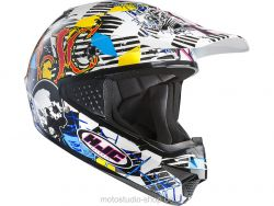 HJC CS-MX Clown MC3 Offroadhelm