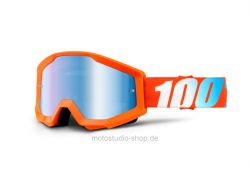 100% Motocross Brille Strata Extra  Orange